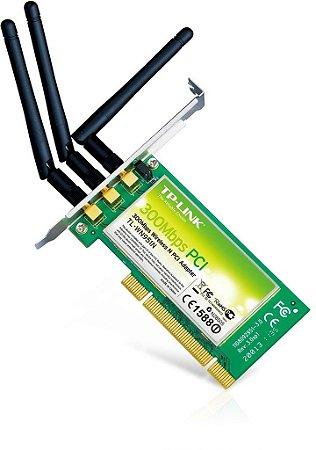 Placa De Rede Wireless Pci Tl-wn951n Tp-link