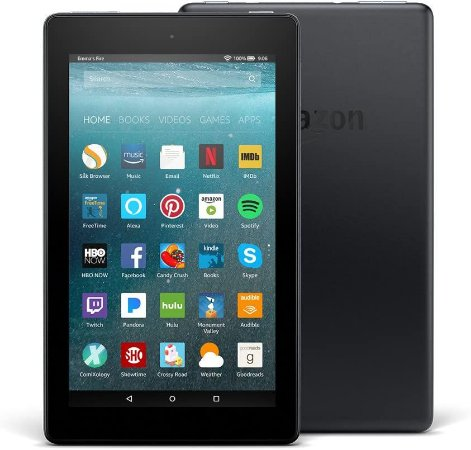 Tablet Amazon Fire 7 Alexa  8gb Tela De 7   Wi-fi Preto