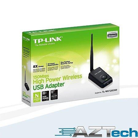 Adaptador Usb Wireless De Alta Potência Tp-link Tl-wn7200