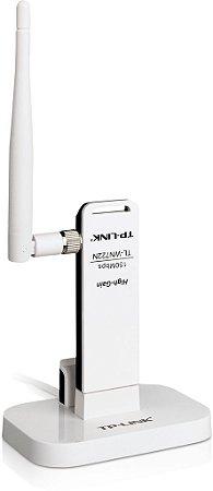 Adaptador Usb Wireless De Alto Alcance De 150mbps Tl-wn722nc