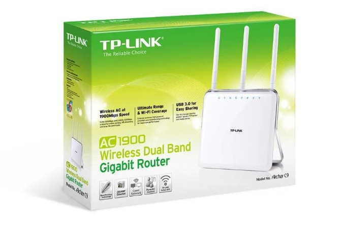 Roteador Wireless Ac1900 Dual Band Tp-link Archer C9 High Power 1000MW