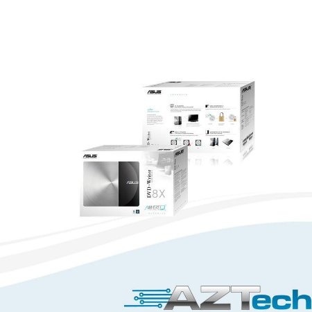 Gravador Dvd-rw Externo  8x Asus Blk Sdrw-08d3s-u/blk/g/as