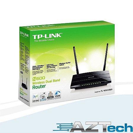 Roteador Wireless De Banda Dupla N600 Tp-link Tl-wdr3500