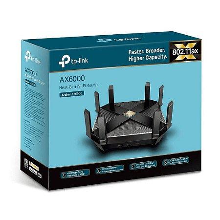 Roteador Wireless TP-LINK ARCHER AX6000 Next-Gen Wi-Fi 802.11ax WiFi-6