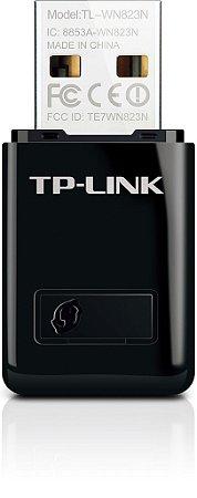 Mini Adaptador USB Wireless N de 300Mbps TL-WN823N TP Link