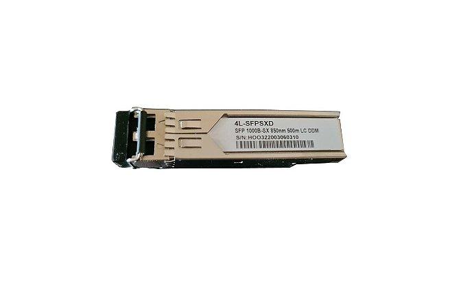 Transceptor Ótico Gbic Multimodo Lc 500mts Certificado Cisco Hp Datacom