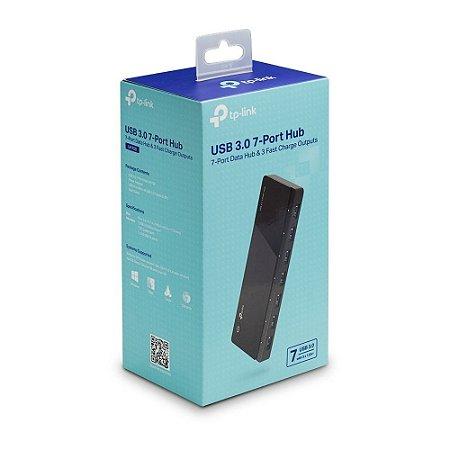 Hub Usb 3.0 - 7 Portas Tp-link Uh700 5gbps 10x Mais Rápido