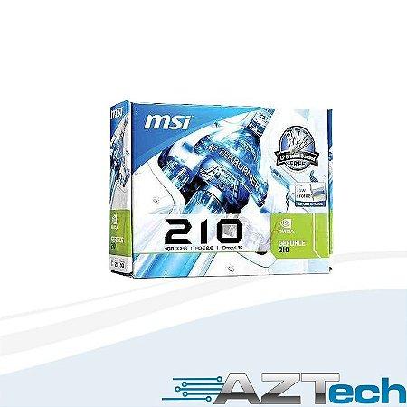 Placa De Vídeo Gigabyte Gt210 1gb Low Profile Gv210d3-1gi R6