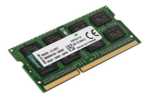 Memória Kingston 8gb 1600mhz Ddr3 Notebook Kvr16ls11\8