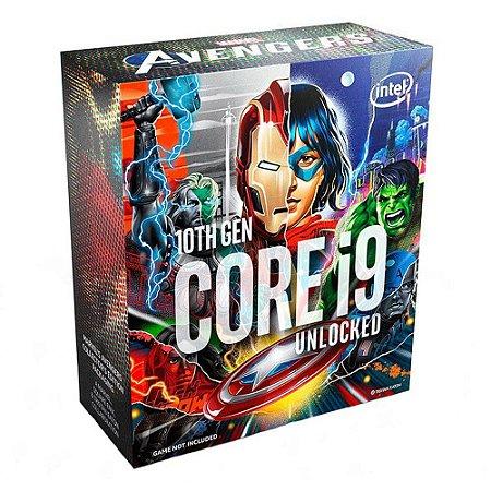 Processador Intel I9-10850KA Avengers Edition  20MB 3.6GHz LGA 1200 BX8070110850KA
