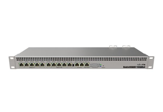 Roteador Gigabit Mikrotik Rb 1100ah X4 Level 6