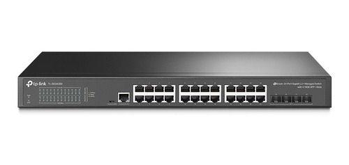 Switch Gigabit 24p 4sfp+ 10gb Tp-link Tl-sg3428x Gerenciável