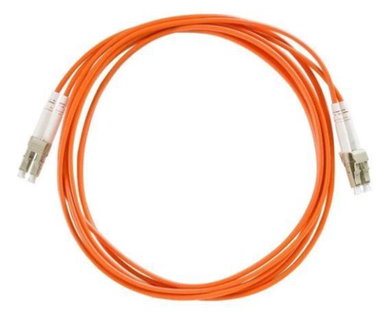 Cordão Óptico Lc-upc Multi Modo Duplex  3.0mm 3m 50/125 10G p/ DAC