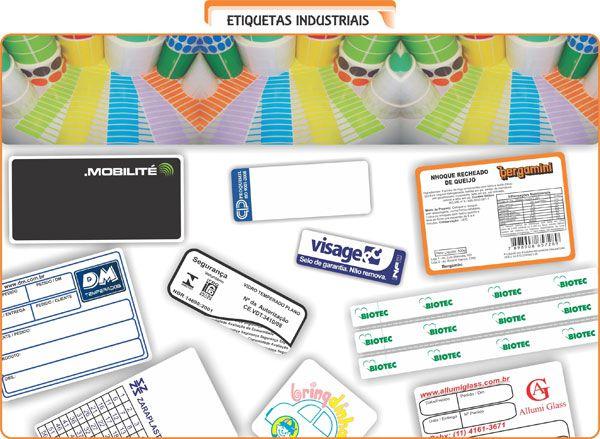 Etiqueta Industriais