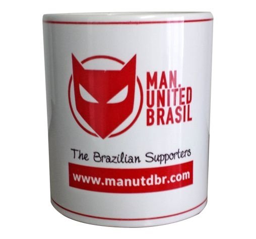 Caneca ManUtd BR Branca