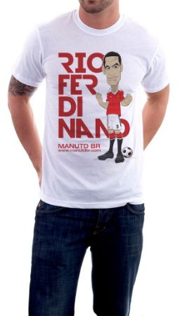 Camiseta Rio Ferdinand - Masculina