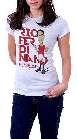 Camiseta Rio Ferdinand - Feminina
