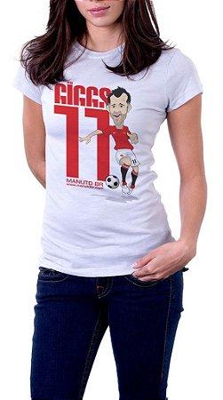 Camiseta Ryan Giggs - Feminina