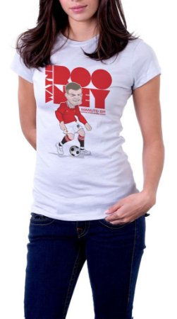 Camiseta Wayne Rooney - Feminina