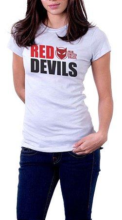 Camiseta Red Devils - Feminina