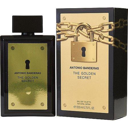 a166114fe5 The Golden Secret Antonio Banderas - Perfume Masculino - Eau de Toilette -  30ml