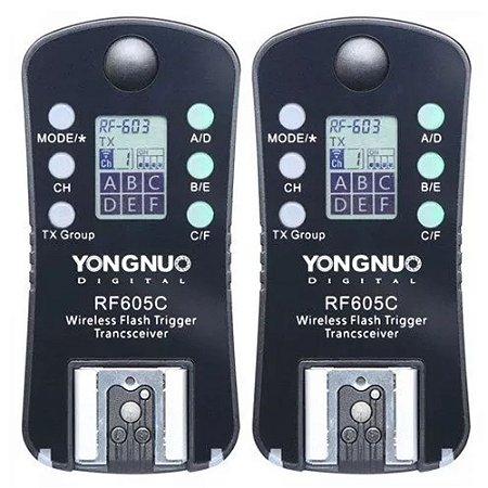 Radio Flash Yn Rf 605 Canon Yongnuo