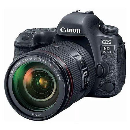 Câmera Canon EOS 6D MARK II KIT 24-105MM F/4L USM