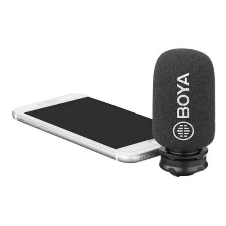MICROFONE BOYA PARA IPHONE IPAD BY-DM200