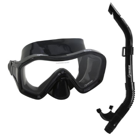 KIT RIO FUN DIVE, Máscara Snorkel SK-09 para Mergulho