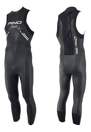 Holbox Max 3 mm Back Zip Long John Pino, Natação Triathlon