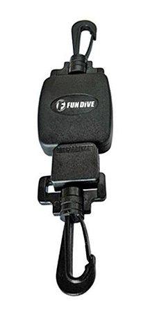 R-01 Fun Dive, Retrator Linha Inox 65 Cm para Equipamento Mergulho