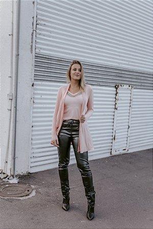 Maxi Cardigan Rosa