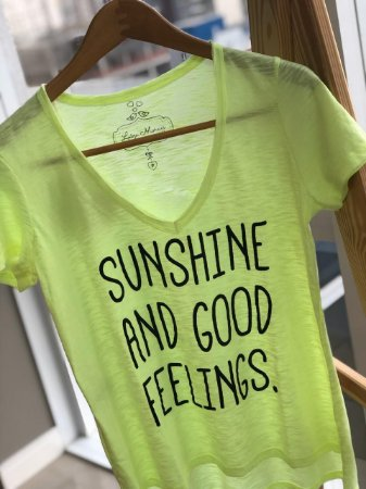 T-shirt Flamê Neon SUNSHINE
