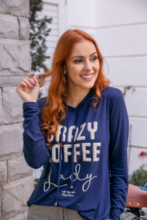 Blusa Crazy Coffee bordada