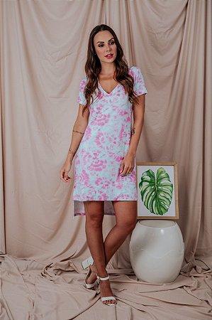 Vestido Tie Dye rosa