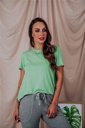 T-Shirt La Vie Est Belle verde