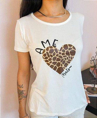 T-Shirt AME mais (projeto @juntospeloteteo)