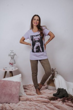 T-shirt Karl & cat ♥