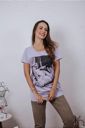 T-shirt Audrey & cat ♥