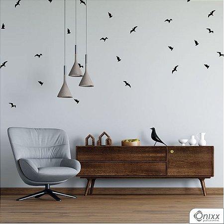 Kit de Adesivos Pássaros Black