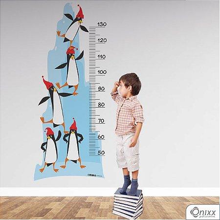 Régua de Crescimento Pinguins