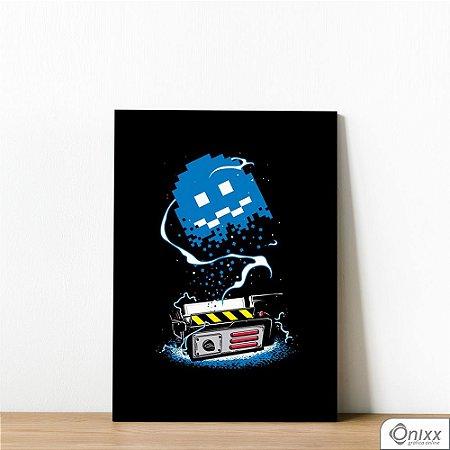Placa Decorativa Pacman Ghostbusters