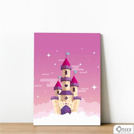 Placa Decorativa Castle