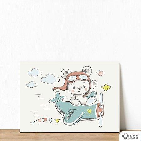 Placa Decorativa Fly Bear