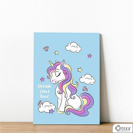 Placa Decorativa Unicorn Dream