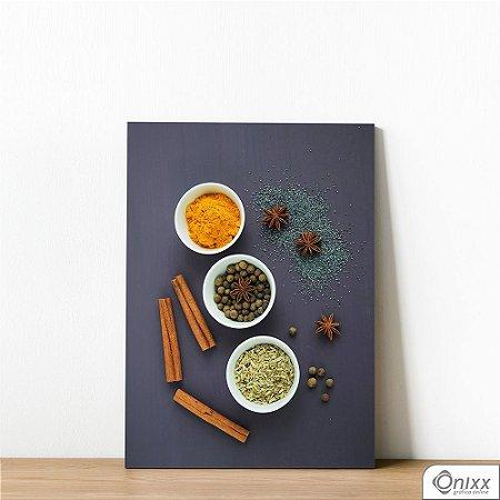 Placa Decorativa Texture Spices