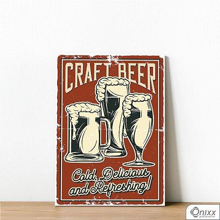 Placa Decorativa Craft Beer
