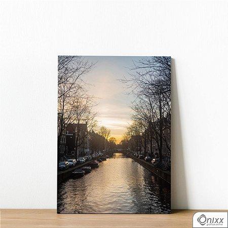 Placa Decorativa River In South Eastern Amsterdam
