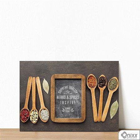 Placa Decorativa Série Inspire Supreme Spices