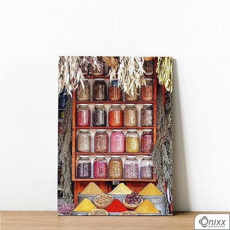 Placa Decorativa Série Spices Various Colorful